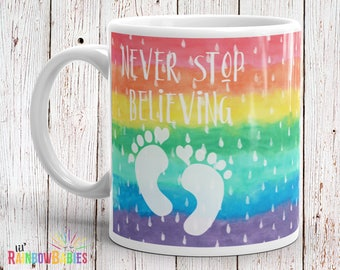 Infertility Gifts, PCOS, Rainbow Baby Pregnancy, IVF, Miscarriage Gifts, Baby Dust Wishes, Trying To Conceive Gift For Women, Fertility