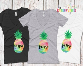 PUPO Pineapple Shirt, Pregnant Unless Proven Otherwise, IVF Gift, Infertility Gift, ttc, ivf Pineapple Gifts, Fertility, ivf Shirt