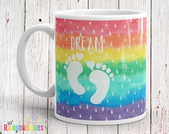 IVF Gifts For Her, Infertility, IVF Baby, Miracle Baby, Miscarriage, PCOS, Polycystic Ovarian, Rainbow Pregnancy, Rainbow Wishes, Baby Dust