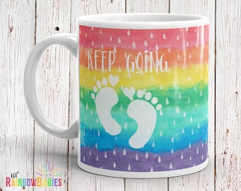 Miscarriage Gift, Infertility, IVF, Pregnancy Loss Gift, Infant Loss, Baby Loss Gift, Infertility Sucks, IVF Gift, PCOS, Keep Going