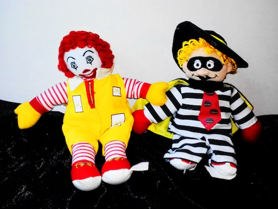 1977 RONALD McDonald  From McDONALD/'S CLOTH DOLL SEALED  STUFFED TOY PLUSH   NEW