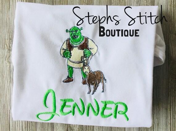 e95b1b42b Shrek Inspired Special Occasion Birthday Shirts | Etsy