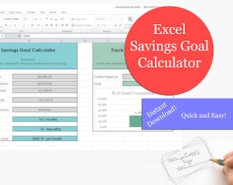 excel budget planner simple budget detailed budget etsy