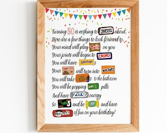Funny Candy Signs Etsy