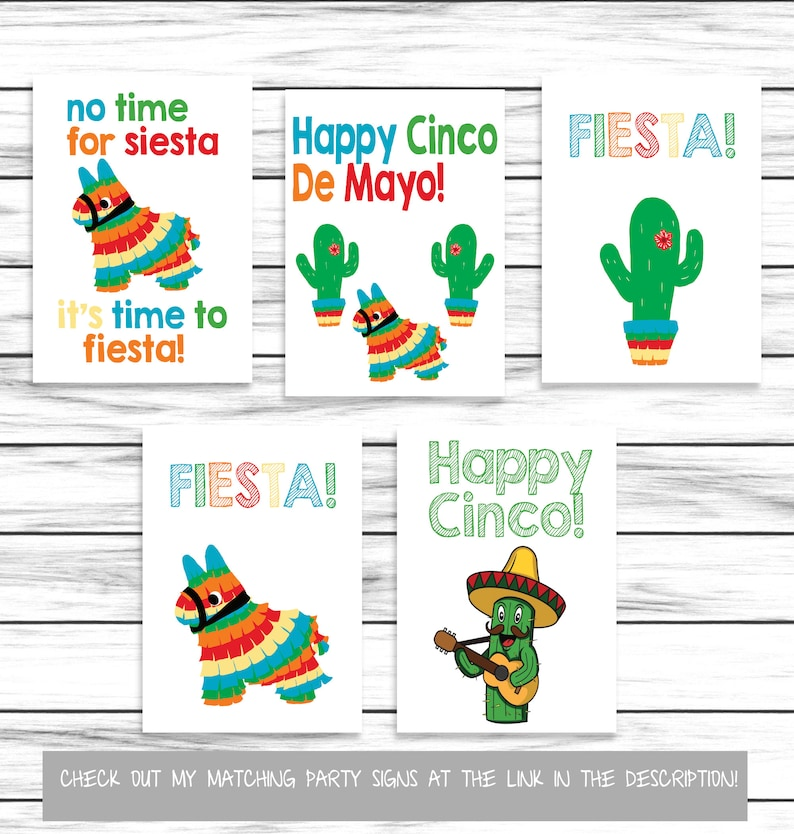 Cinco De Mayo Word Scramble Party Game Word Game For ...