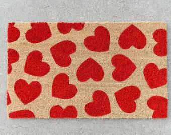Heart Doormat Etsy