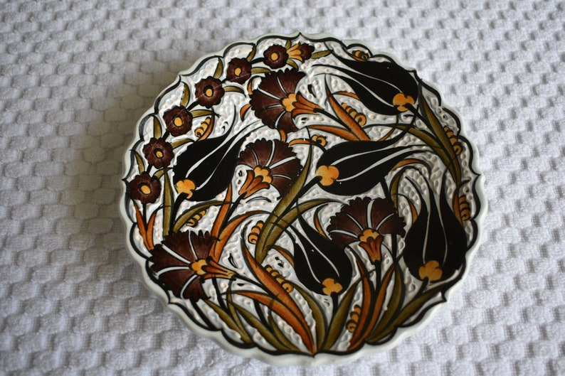 Salad Plate small Turkish plate perfect for food trinkets or image 0