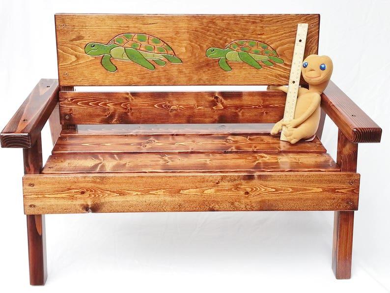 Nautique banc pour enfants enfants terrasse / salon de jardin | Etsy
