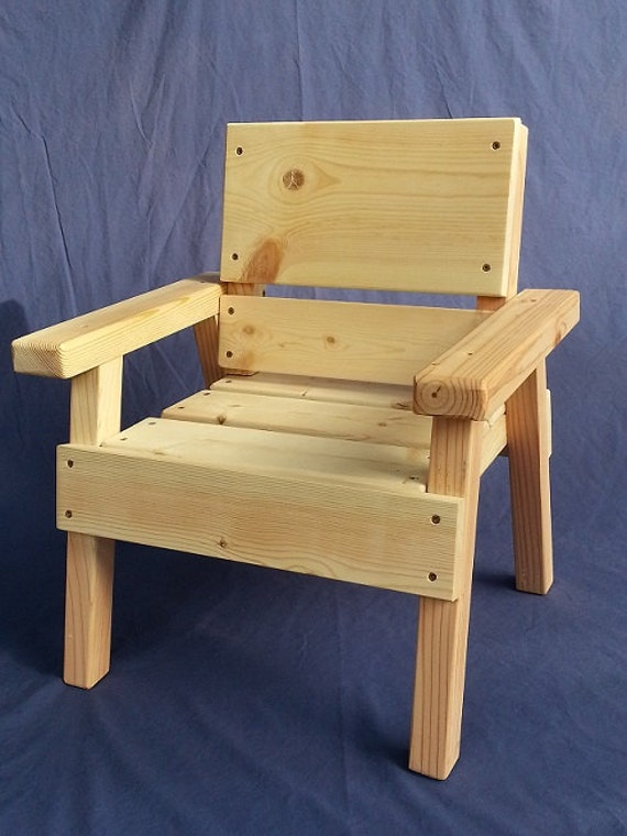 Incredible Diy Project Kids Solid Wood Chair Toddler Boy Or Girl Childrens Furniture Ready To Paint Or Stain Reclaimed Wood Ez Assembly Caraccident5 Cool Chair Designs And Ideas Caraccident5Info
