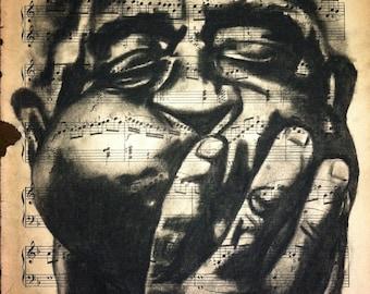 Giclee print of Dizzy Gillespie