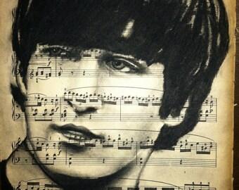 Giclee print of John Lennon