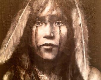 Hopi Girl Limited Giclee