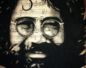 Giclee print of Jerry Garcia