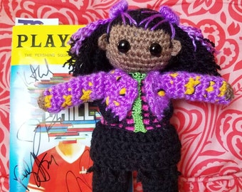 Michael Mell from Be More Chill Crochet Doll George Salazar   Etsy
