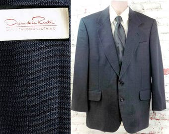 men's Sport coat, men's blazer, men's sports jacket, Blue sports coat, men's blazer, size 42 R.   # 227