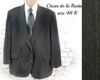 men's Sport coat, men's blazer, men's sports jacket, wool sports coat, men's blazer, size 48 R.   # 200