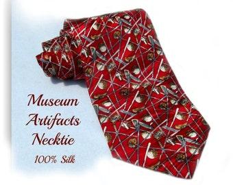 golf tie,golf necktie, gift for golfers,silk necktie, designer tie, Men's accessories ,  # T 62