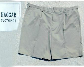 men's pleated front shorts, Big and Tall shorts men - men's dress shorts, size 50 shorts men ,   # 21