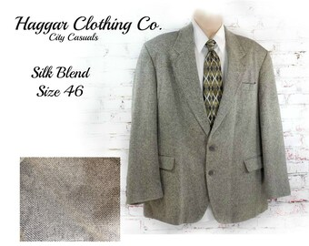 silk blend Sport coat, men's  blazer, men's sports jacket, men's dress jacket,    # 195