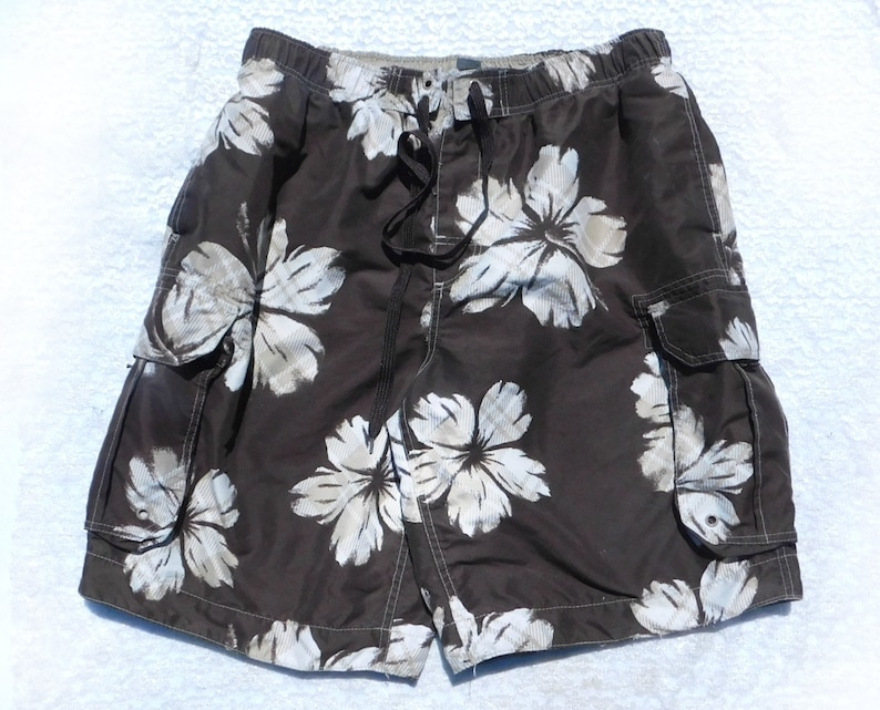 4fed04c451dd1 Floral swim shorts flower swim shorts beach swim shorts | Etsy