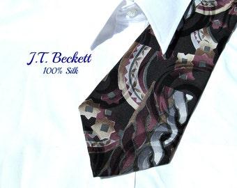 men's tie,silk necktie,men's neckwear, men's necktie,abstract tie, men's gift,  # T 74