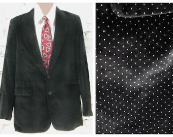 black sport coat - men's blazer, men's sports jacket, men's Sport coat, men's blazer,    # 114