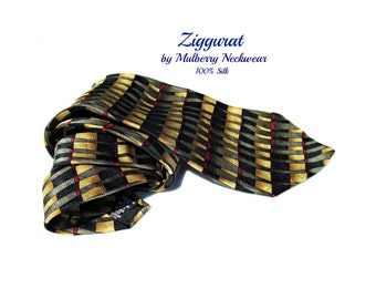 vintage necktie,wide tie, designer tie,suit necktie, office tie,gift for him, # T 73
