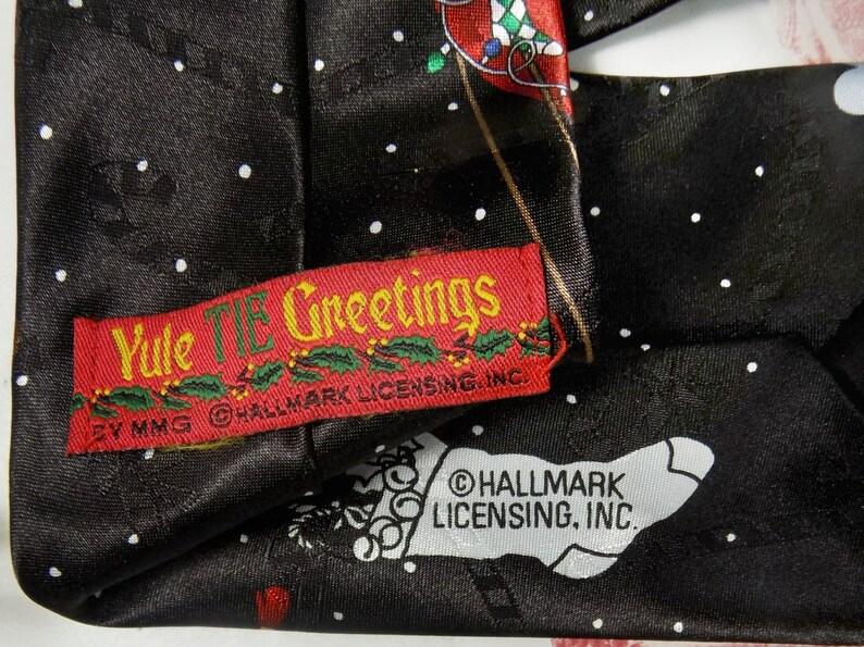 men/'s Christmas necktie Holiday tie Xmas Party tie  -Christmas neck wear #  T 5 Hallmark  tie