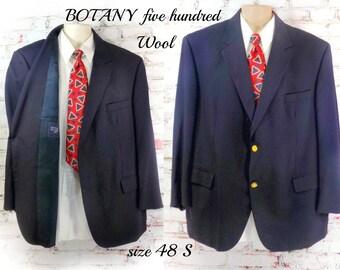 men's wool blazer, men's navy blazer ,men's office attire , men's sports jacket, men's blazer, wool sport coat ,  # 181
