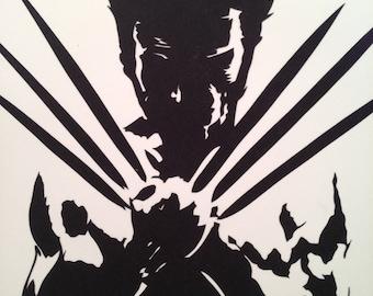 Wolverine paper cut.