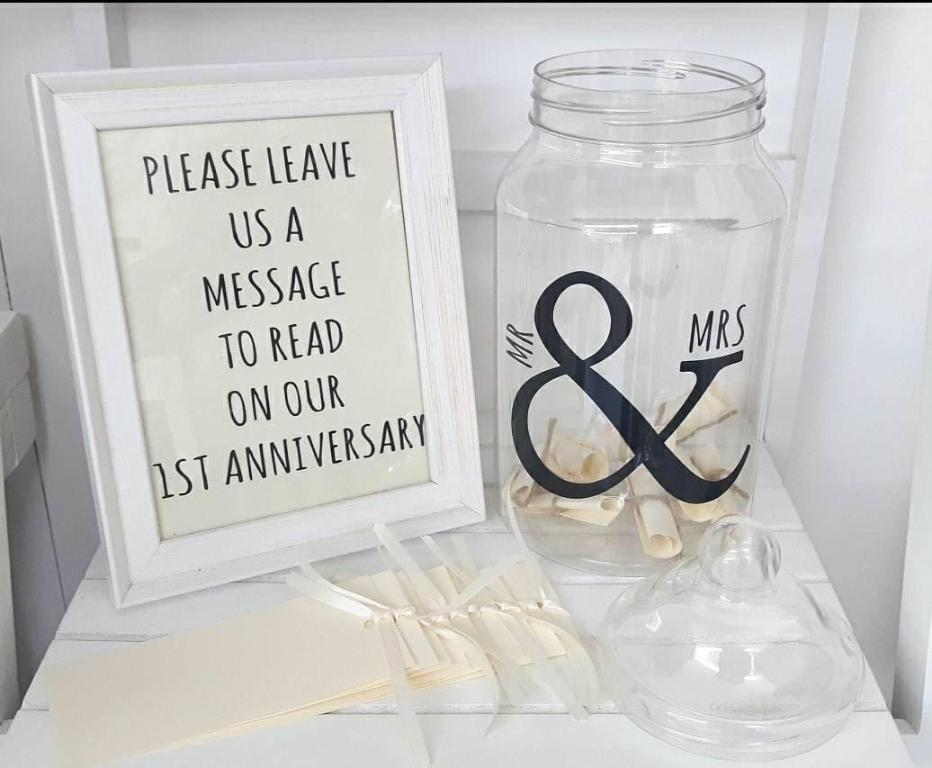 Wedding Message in a Bottle INTERNATIONAL OPTION