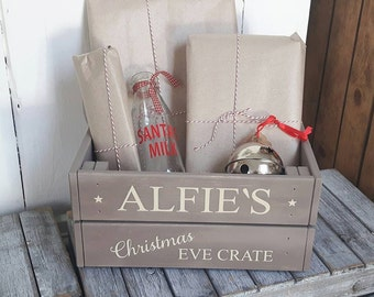 Christmas Eve Crate,Christmas Eve Box,Christmas,Personalised Gift