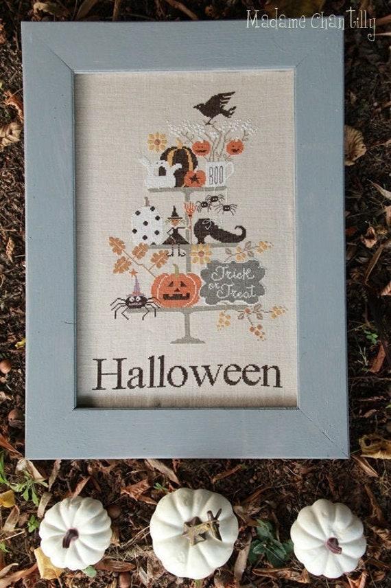 Festeggia Halloween - Cross Stitch Chart