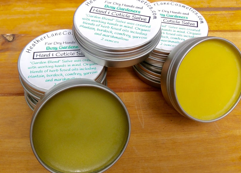 Garden Blend Salve for Healing Those Dry Overworked Hands image 0