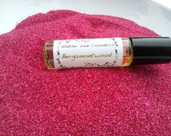 Bergamot Sandalwood Perfume Oil Fragrance  Aromatherapy Artisan Cosmetics