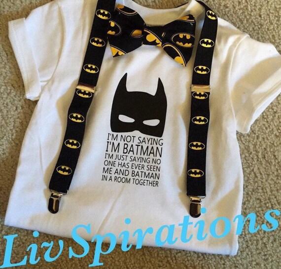 6859b0a54 Batman-Batman T-Shirt-BowTie-Batman bowties-Batman | Etsy
