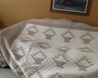 Brown basket quilt