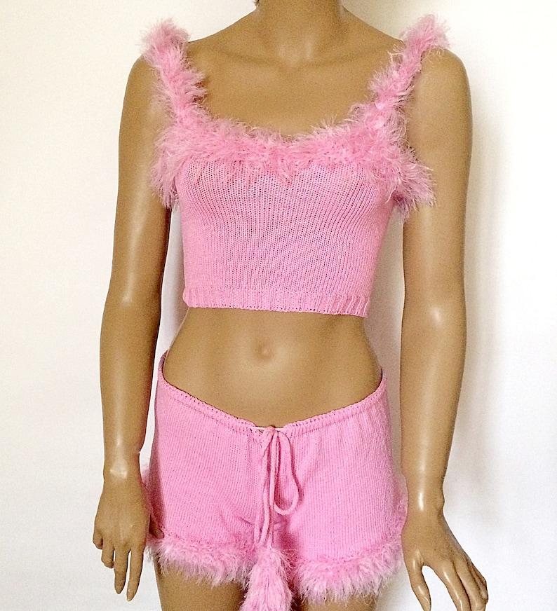 74a6b683e6 Sexy lingerie Wedding Honeymoon Nightwear Babydoll Crop top