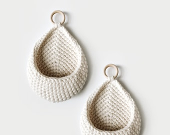 CROCHET PATTERN ⨯ Hanging Basket ⨯ The Lapli