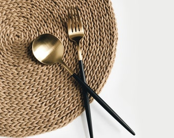 CROCHET PATTERN ⨯ Placemat, table setting ⨯ The Kouvèti