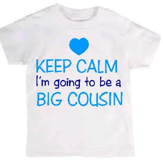 Ich Werde Zu Einer Grossen Cousine Cousin Jungen Hemd Cousin Etsy