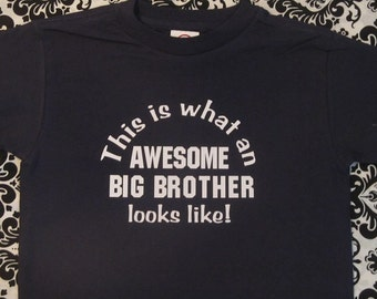 awesome big brother shirt, awesome big brother tshirt, i'm an awesome brother shirt, awesome big brother t shirt, awesome big brother gift