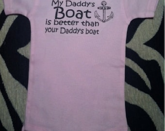boating baby one piece, boating baby bodysuit, yacht baby, boating baby boy, boating baby girl, boating baby gift, boating baby present