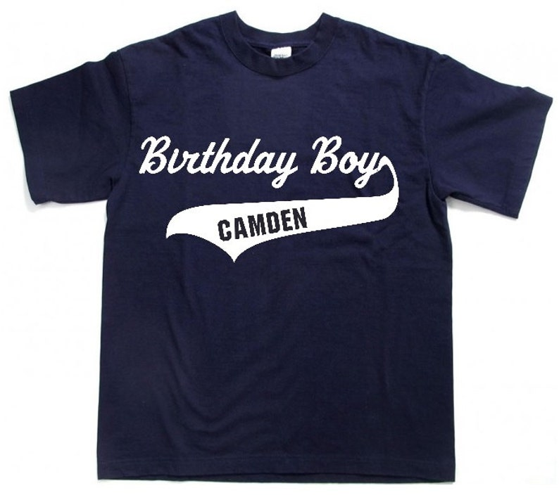 Personalized Birthday Boy Shirt Custom Tees Toddler