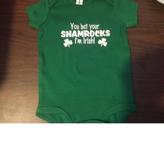 806089854 irish baby bodysuit irish baby outfit irish baby boy irish