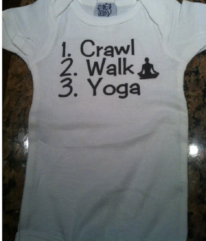 yoga baby shower yoga baby girl yoga baby one piece infant yoga shirt yoga baby boy yoga baby gifts Yoga Baby shirt