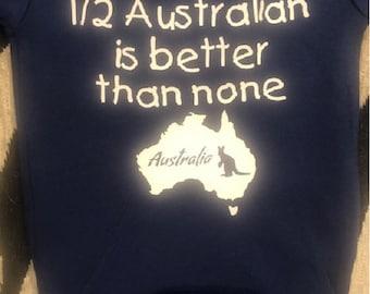 australian baby clothes - australian baby bodysuit - australian baby one piece - australian baby shirt - australian baby shir