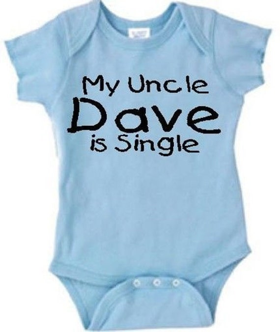 Personalized Uncle Baby One Piece Uncle Baby Clothing Uncle Etsy