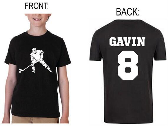 personalized youth hockey jerseys