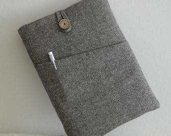 iPad Air Case iPad Air Cover Padded iPad Sleeve, Nexus 10-iPad Bag,ipad cover,iPad 1-4Sleeve,cute ipad air cases Herringbone